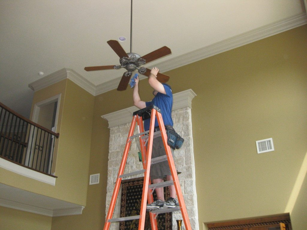 Ceiling Fan Cleaning
